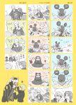 bad_id boned_meat cat_ears comic food hanamura_yousuke izanagi jiraiya_(persona_4) kujikawa_rise meat meji narukami_yuu persona persona_4 shirogane_naoto take-mikazuchi tatsumi_kanji translation_request whiskers