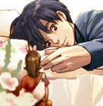 from_behind ghibli hachiko_(wakadanna789) hands karigurashi_no_arrietty light_smile lying minigirl studio_ghibli