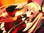 blonde_hair bloody_rondo game_cg luna_freed_queen makita_maki red_eyes twintails