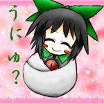 ^_^ blush_stickers confession reiuji_utsuho smile touhou touhoumon translated