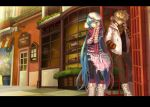 boots glasses hat hatsune_miku headphones headphones_around_neck kagamine_len scarf tagme vocaloid