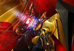 chouzetsu_yarou dis_astranagant energy glowing magic_circle mecha no_humans solo super_robot_wars the_3rd_super_robot_wars_alpha wings
