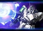 energy_beam firing gun gundam gundam_unicorn letterboxed mecha solo unicorn_gundam weapon zb