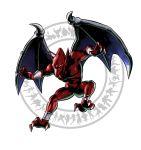 claws demon highres makaimura marvel_vs._capcom marvel_vs._capcom_3 marvel_vs_capcom marvel_vs_capcom_3 mori_toshiaki official_art pointy_ears red_arremer red_skin shinkiro wings