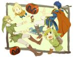 6+boys 6boys bag belt black_eyes black_hair blonde_hair blue_eyes blue_hair cape child dual_persona earrings fire_emblem fire_emblem:_monshou_no_nazo fire_emblem:_souen_no_kiseki hat headband ike jewelry link lucas marth mother_(game) mother_2 mother_3 multiple_boys ness nikayu nintendo pointy_ears randoseru shield smile super_smash_bros. the_legend_of_zelda tomato toon_link twilight_princess wind_waker