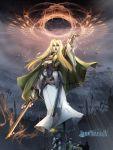 long_hair mole pixiv pixiv_fantasia pixiv_fantasia_4 sword takayama_dan weapon youzan_dan