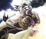 epaulettes flying helmet highres hypoxis jetpack keith_goodman lights male power_suit sky_high solo superhero tiger_&_bunny