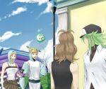 bad_id balloon cameo erukin_masa hat n_(pokemon) nikawa_99-do nozonokusa pikachu pikachu_(cameo) poke_ball pokemon pokemon_(game) pokemon_black_and_white pokemon_bw puppet purrloin ribbon sky solosis solosis_(cameo) surprised team_plasma team_plasma_grunt themed_object top_hat touko_(pokemon)