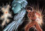dragon_ball_(object) dragon_ball_z kamehameha lowres norihiro_yagi piccolo son_goku son_gokuu yagi_norihiro