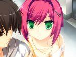 bloody_rondo close game_cg green_eyes necklace nikaidou_rinko sakaki_maki short_hair