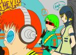 beat breast_shot green_hair gum jet_set_radio_future jsrf neon red_glasses redhead sega yoyo