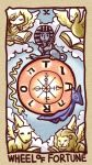 book bull cloud copyright_request ikkyuu lion lowres no_humans ox snake sphinx tarot wheel_of_fortune_(tarot_card) wings zodiac