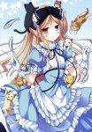 absurdres avril avril_(shukufuku_no_campanella) cat fish flat_gaze highres ko~cha lolita_fashion neko ribbon shukufuku_no_campanella star too_many_cats