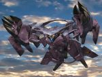 highres igunuk mecha no_humans original science_fiction sky