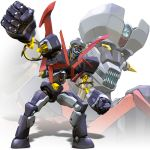 highres igunuk mazinger_z mecha oldschool realistic science_fiction