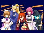 bandage bandages billhook bread broom bucket candy cat_ears cosplay disney doll food halloween hat hecate higurashi_no_naku_koro_ni jack_skellington lollipop margery_daw melon_bread piku ryuuguu_rena ryuuguu_rena_(cosplay) shakugan_no_shana shana swirl_lollipop sword the_nightmare_before_christmas vampire weapon wilhelmina_carmel witch yoshida_kazumi