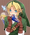 blonde_hair blue_eyes fingerless_gloves gloves hat instrument kiricloud link nintendo ocarina ocarina_of_time pointy_ears red_eyes sheik the_legend_of_zelda