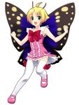 blush fairy flat_chest loli mary_janes mizuki_makoto shimon shimotsuma shoes short_hair skirt thigh_highs thighhighs wings