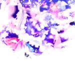 cherry_blossoms fan hat highres japanese_clothes kimono nayuzu pink_hair saigyouji_yuyuko short_hair touhou