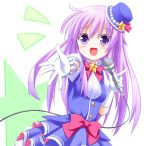 1girl choujigen_game_neptune hat kami_jigen_game_neptune_v long_hair microphone nepgear open_mouth purple_hair solo taka_(suigendou) violet_eyes