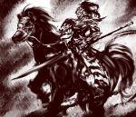 barding dark_souls dragon_slayer_ornstein full_armor gauntlets helmet horse huge_weapon knight polearm soubi spear weapon