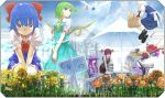 :d ^_^ apron ascot baguette basket bat_wings benitama between_legs blonde_hair blue_eyes blue_hair book book_stack bow bread butterfly butterfly_on_nose carrying chair cirno closed_eyes cloud crescent daiyousei danmaku dress_shirt everyone eyes_closed fairy_wings flandre_scarlet floating flower food garden gate glomp green_eyes green_hair hair_bobbles hair_bow hair_ornament hand_between_legs happy hat head_wings holding holding_book hong_meiling hug ice ice_wings izayoi_sakuya kirisame_marisa kneeling koakuma large_bow long_hair long_sleeves low_wings magic_circle maid maid_headdress multiple_girls necktie open_mouth outstretched_arms parasol patchouli_knowledge payot picnic_basket purple_eyes purple_hair red_eyes red_hair redhead remilia_scarlet rumia shirt short_hair short_sleeves side_ponytail sign silhouette silver_hair skirt skirt_set sky smile table the_embodiment_of_scarlet_devil touhou translated umbrella v_arms vest violet_eyes waist_apron wall watering_can white_shirt wine wings youkai