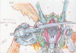 color_trace highres knife macross macross_frontier macross_frontier:_itsuwari_no_utahime mecha production_art s.m.s s.m.s. tornado_pack vajra vf-25