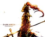 dark_souls dragon_slayer_ornstein polearm red_hair spear taamo_yu weapon