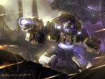 autobot battle bumblebee city cybertron goldbug gun jazz mecha oldschool realistic robot science_fiction space_craft transformers weapon windforcelan