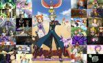 entei espeon haruka_(pokemon) hitmontop ho-oh leo_(pokemon) makuhita mirei_(pokemon) pokemon raikou suicune umbreon