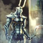 demon's_souls demon's_souls helmet shotel solo sword weapon yurt_the_silent_chief
