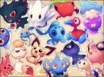 bad_id blue_beak chimecho chinchou cleffa corsola ditto drifloon hoppip misdreavus nintendo no_humans orange_eyes phione pichu pokemon pokemon_(game) pokemon_dppt pokemon_gsc porygon2 red_eyes sekori shinx shiny_pokemon shuckle shuppet surskit togetic