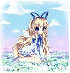 blue_eyes disgaea flonne highres long_hair midna01 solo