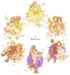6+girls bare_shoulders bouquet bridal_veil dress elbow_gloves endou_mamoru flower formal fudou_akio gloves gouenji_shuuya hakunii highres ichinose_kazuya inazuma_eleven inazuma_eleven_(series) kino_aki kudou_fuyuka multiple_boys multiple_girls otonashi_haruna raimon_natsumi tachimukai_yuuki tsunami_jousuke tuxedo urabe_rika veil wedding_dress zaizen_touko