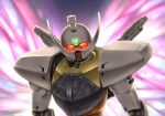 glowing_eyes gundam mecha moonlight_butterfly no_humans solo takemori_shintarou turn_a_gundam turn_a_gundam_(mobile_suit)