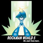 1boy android arm_cannon arms_up blue_eyes bodysuit charging english g_(gpula) helmet rockman rockman_(character) rockman_(classic) solo super_smash_bros. weapon