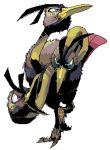 bird dodrio lowres no_humans pokemon pokemon_(creature) sido_(slipknot) simple_background solo white_background