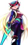 blonde_hair blue_eyes genderswap midnight_bliss rockman rockman_zero solo t-tom zero_(rockman)