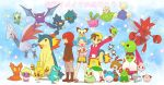 bellossom black_hair blue_hair brown_hair celebi chikorita cleffa crobat crystal_(pokemon) cyndaquil elekid emunise everyone gold_(pokemon) gold_(pokemon)_(classic) hat holding hoppip igglybuff jumpluff kotone_(pokemon) marill misdreavus murkrow natu nintendo pichu pokemon pokemon_(anime) pokemon_(game) pokemon_crystal pokemon_gold_and_silver pokemon_gsc pokemon_hgss scizor sentret silver_(pokemon) silver_(pokemon)_(classic) skarmory skiploom slugma smoochum togepi totodile twintails typhlosion unown wooper xatu