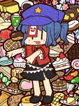 :p ^_^ almond almonds banana baumkuchen beret berries blue_hair bread butter cake candy cherry chocolate closed_eyes cracker cream_puff doughnut drink eyes_closed feast food fruit gelatin hat ice_cream ice_cream_cone icing jelly_bean jiangshi lollipop macaron melon_bread miyako_yoshika mochi ofuda orange orange_slice outstretched_arms pancake ponytail pudding sakura_mochi shaved_ice short_hair shortcake skirt solo star straw strawberry strawberry_shortcake swirl_lollipop taiyaki tart tart_(food) tongue touhou unadare wafer waffle waffle_(food) wagashi youkan_(food) zombie_pose |_|