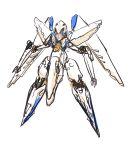 blue_hair butaneko konami mecha_musume orbital_frame solo vic_viper zone_of_the_enders zone_of_the_enders_2
