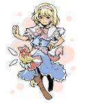 1girl alice_margatroid blonde_hair blue_eyes doll hairband hounori long_hair shanghai_doll short_hair touhou wings