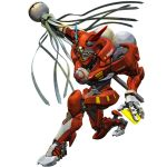 highres igunuk italian matoi mecha no_humans one_knee original realistic science_fiction solo