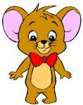 brown jerry_mouse_jr. males mouse pose red_tie team_morton_koopa_jr.