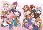 amatsuka_haruka amatsuka_hikaru amatsuka_watayuki asahi_(baby_princess) baby_princess character_request chikage_(sister_princess) crossover haruka_(baby_princess) haruka_(sister_princess) highres hikaru_(baby_princess) hoshizora_rin karen_(sister_princess) koizumi_hanako kousaka_honoka love_live!_school_idol_project midoya_(icecandy) minami_kotori namesake puppy_girls rinrin robot sakuya_(sister_princess) school_uniform shirayuki_(sister_princess) sister_princess strawberry_panic!