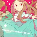 hagiko mawaru_penguindrum smile solo star takakura_himari