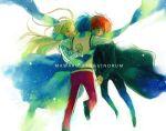 karua_(teikiatsugirl) mawaru_penguindrum scarf siblings star takakura_himari takakura_kanba takakura_shouma
