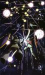 70s 80s absurdres ball_(gundam) battle earth_federation energy_sword epic explosion gelgoog gm_(mobile_suit) gundam highres laser mecha mobile_suit_gundam oldschool rick_dom science_fiction shield space star_(sky) sword weapon zaku zaku_ii zaku_ii_f/j zeon zero_gravity