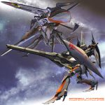 cannon cloud_schaze epic five_star_stories galaxy highres igunuk mecha mortar_headd oldschool realistic science_fiction shield space speed_mirage spider star_(sky) walker wunder_schatze
