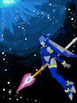blue blue_eyes capcom fairy_leviathan female girl guardian_of_the_sea guardians_of_master_x guardians_of_neo_arcadia gynoid helmet javalin leviathan leviathan_(megaman) leviathan_(rockman) megaman_zero mmz neo_arcadia oekaki reploid rmz robot rockman rockman rockman_zero sitting spear thigh-highs woman
